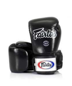 Fairtex BGV1 Muay Thai Boxing Gloves Black