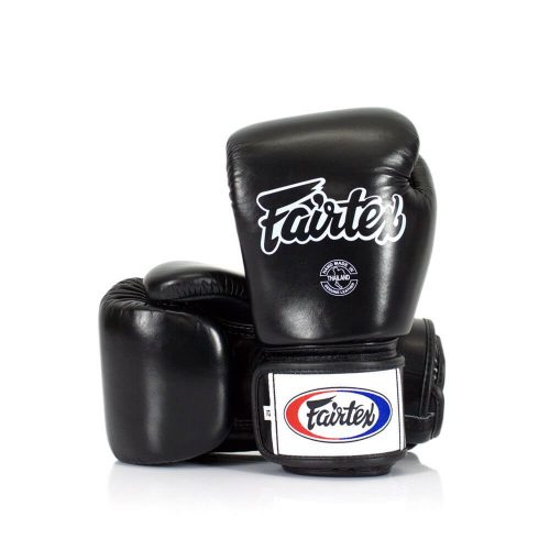 Fairtex BGV1 Muay Thai Boxing Gloves Black