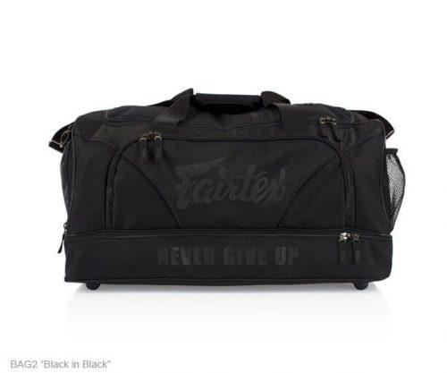 Fairtex Gym Bag Black