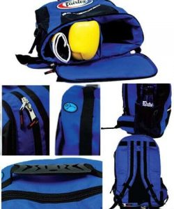 Close up to show details for Blue Fairtex Backpack