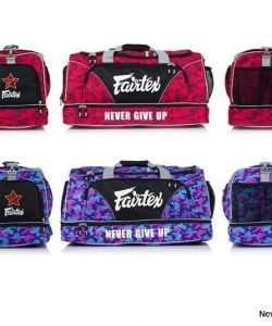 Fairtex Bag2 Gym Bag (Red Camo/Purple Camo)