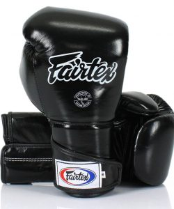 Black Fairtex BGV6 Angular Sparring Gloves