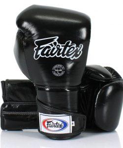 Black Fairtex BGV6 Angular Sparring Gloves