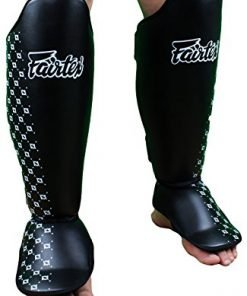 Fairtex SP5 Competition Shin Guards Black