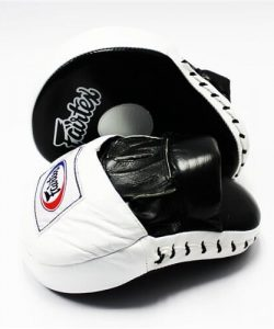 Fairtex FMV9 White Contoured Focus Mitts