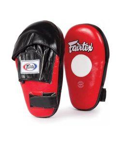 Red Fairtex FMV8 Pro Angular Focus Mitts