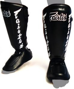 Fairtex SP7 Twisted Shin Pads Black