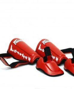 Fairtex SP7 Twisted Shinguards - detachable shin and foot protector