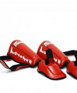 Fairtex SP7 Twisted Shinguards - detachable shin and foot protector
