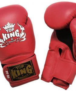 Top King Air Boxing Gloves TKBGSA Red