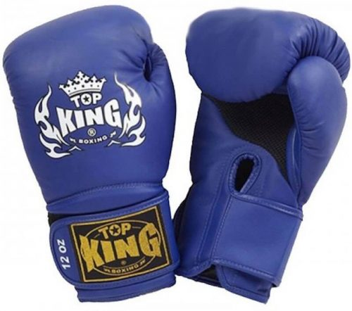Top King TKBGSA Blue Super Air Boxing Gloves