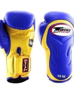 Twins BGVL6 Boxing Gloves Blue Yellow