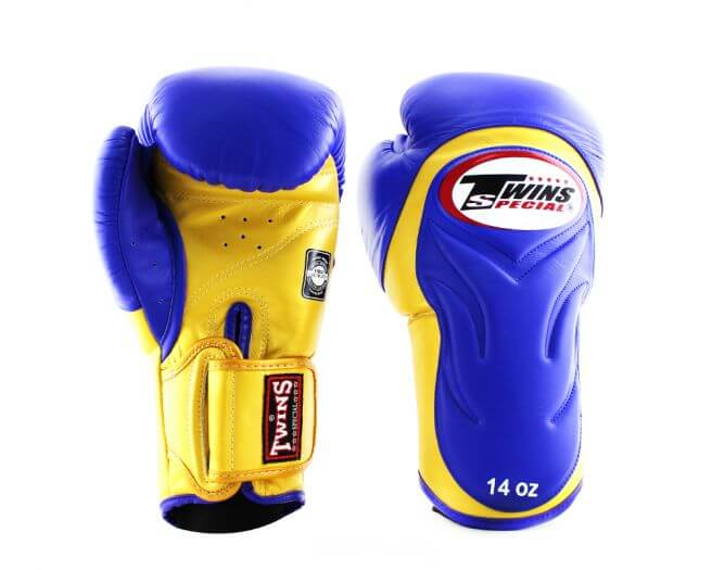 Twins Embossed Boxing Gloves (BGVL-6)