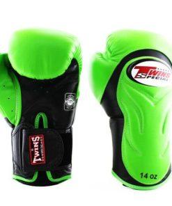 Twins BGVL6 Boxing Gloves Green Black