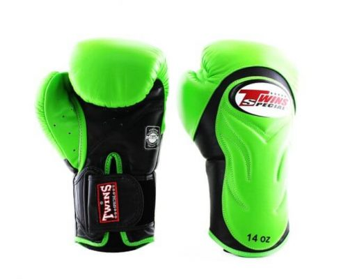 Twins BGVL6 Boxing Gloves Green Black
