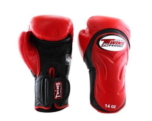 Twins Boxing Gloves BGVL6 Red Black