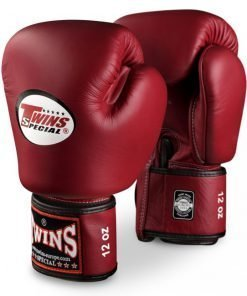 Burgundy Twins Boxing Gloves BGVL-3