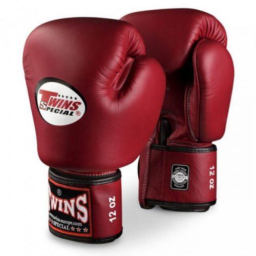 Burgundy Twins Boxing Gloves BGVL-3
