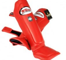 Twins Shin Guards (Red) - SGL-10