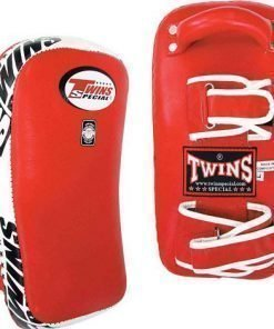 Red Twins Thai Pads KPL-10, Twins Special Muay Thai Kick Pads