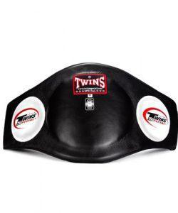 twins muay belly pads black