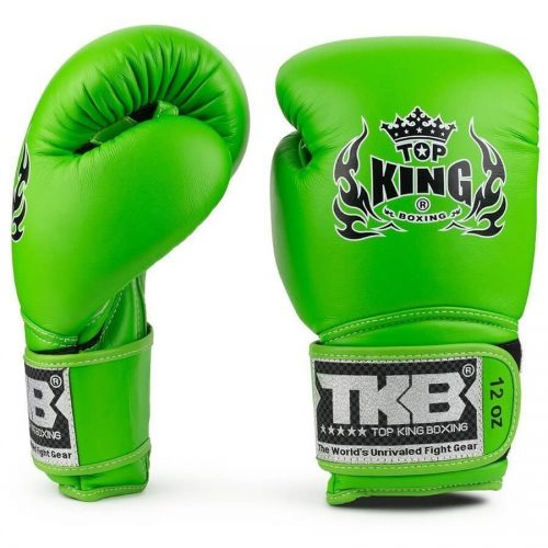 Top King Super Air Boxing Gloves Green