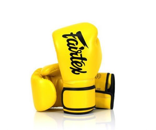 Fairtex BGV14 Boxing Gloves Yellow