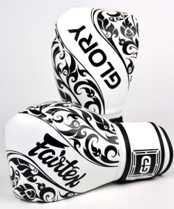 Fairtex Glory Boxing Gloves White BGVG2