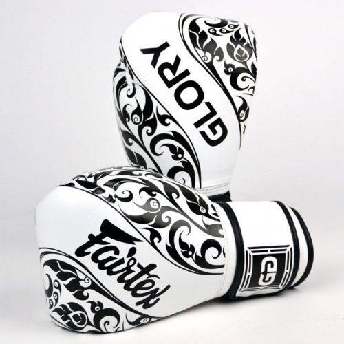 Fairtex Glory Boxing Gloves White BGVG2