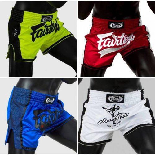 Fairtex Slim Cut Muay Thai Shorts