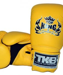 Top King Super Air Boxing Gloves Yellow