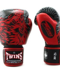 Twins Wolf Boxing Gloves FBGVL3-50 Red
