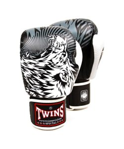 Twins Wolf boxing gloves