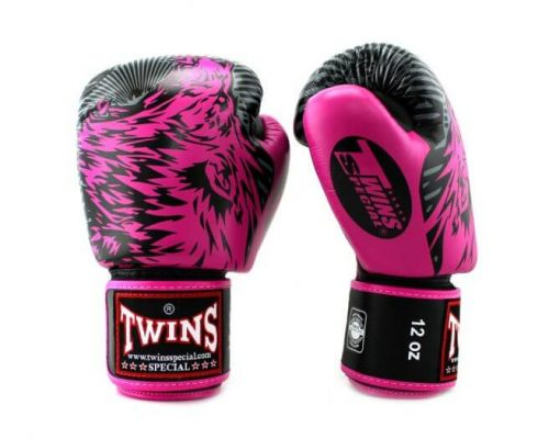 Twins Wolf Boxing Gloves FBGV3-50 Pink