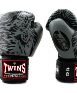 Twins Wolf Boxing Gloves FBGVL3-50 Grey