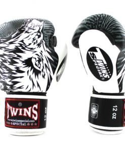 Twins Wolf Boxing Gloves FBGVL3-50 White