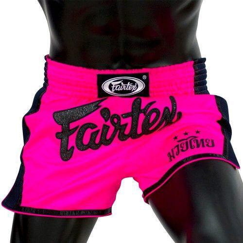 Pink Fairtex Muay Thai Shorts BS1714