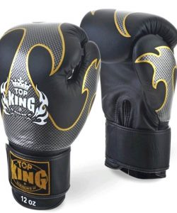 Boxing Gloves Top King Empower Creativity TKBGEM-01 Black-Silver