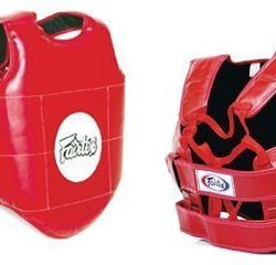 Fairtex PV1 Protective Body Vest Red