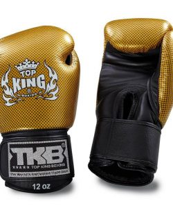 Top King Empower Boxing Gloves Gold Black TKBGEM02