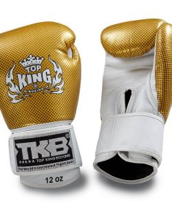 Top King Empower Boxing Gloves Gold White TKBGEM02