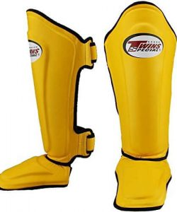 Twins Special Shin Pads Yellow
