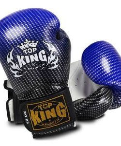 Top King Super Star Boxing Gloves Blue