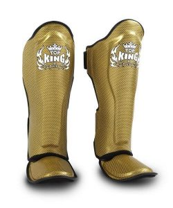 Top King Empower Shinguards Gold/Black