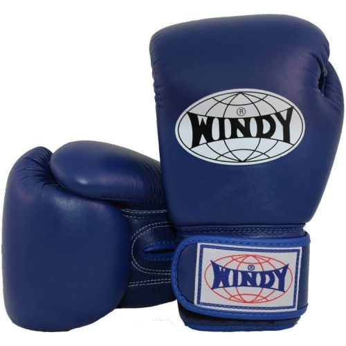 WIndy Muay Thai Boxing Gloves - Blue