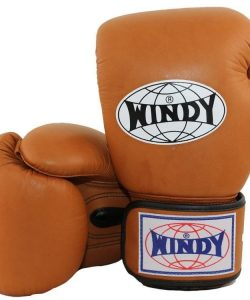 WIndy Muay Thai Boxing Gloves - Brown