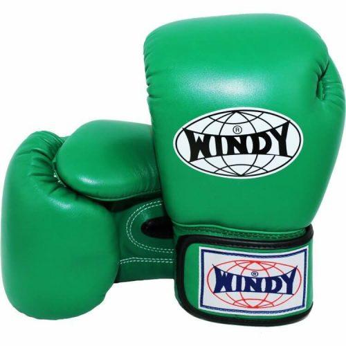 WIndy Muay Thai Boxing Gloves - Green