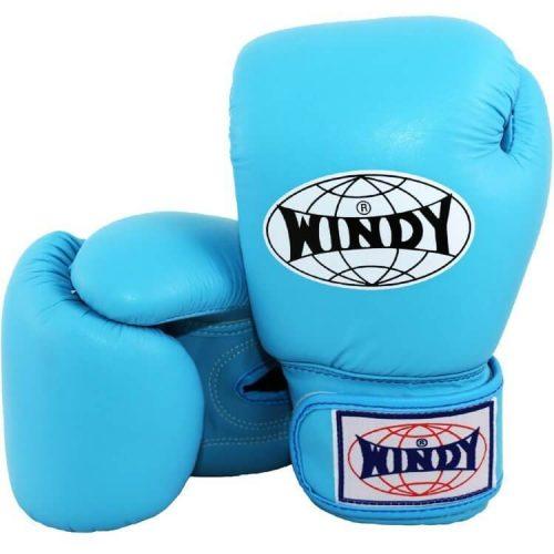 WIndy Muay Thai Boxing Gloves - Light Blue