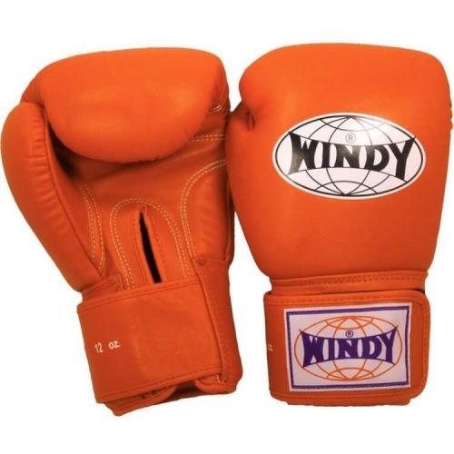 WIndy Muay Thai Boxing Gloves - Orange