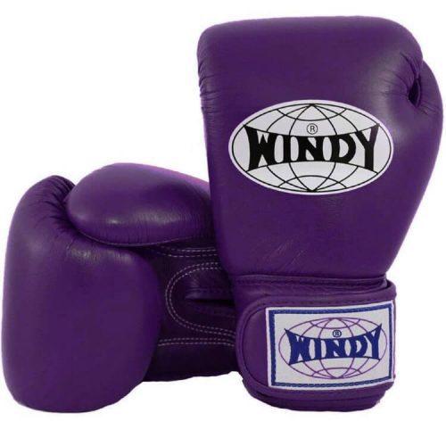 WIndy Boxing Gloves, Purple Muay Thai Gloves